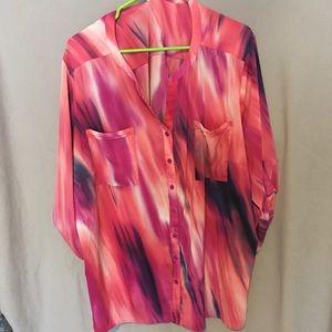 Fun Pink/Purple blouse